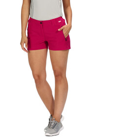 Regatta Highton Shorts Women Dark Cerise